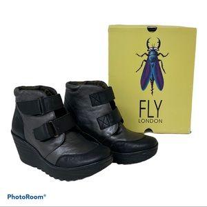 London Fly YUGO 684 Fly Black Soft Leather…